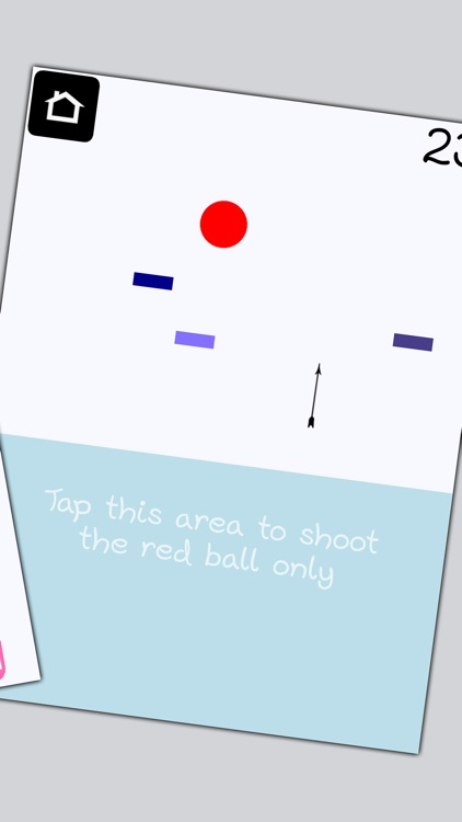 Shot the Red Ball - The free and simple super casual hand eye coordination game