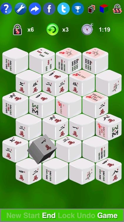 Mahjong 3D Solitaire Mini screenshot-0
