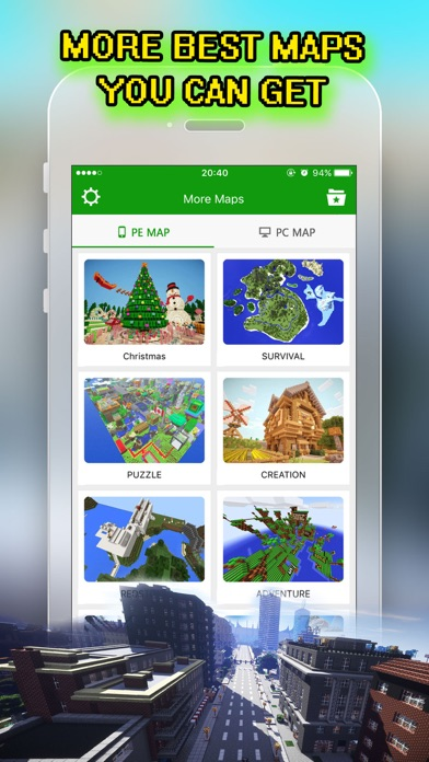Best City Maps for Minecraft PE : Pocket Edition screenshot two