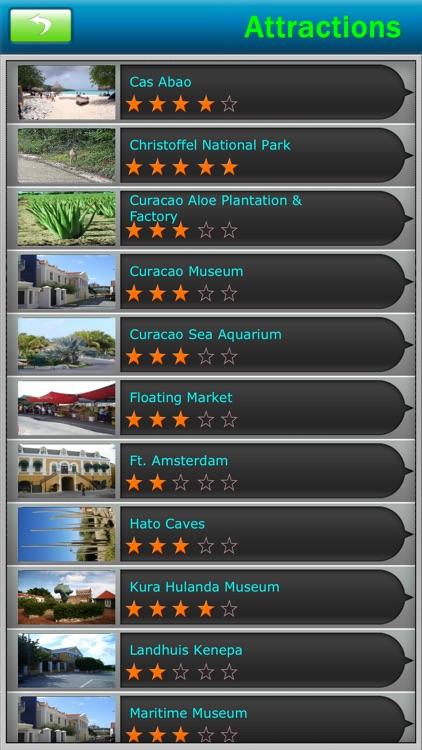Curacao Offline Map Travel Guide