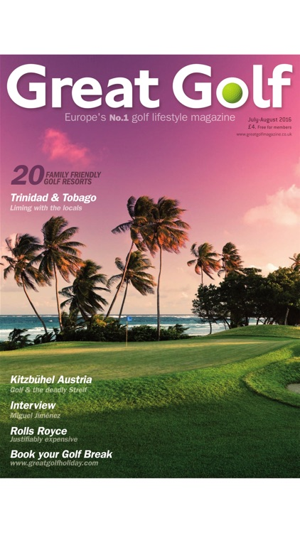 Great Golf Magazine - The Luxury Travel and Lifestyle Magazine