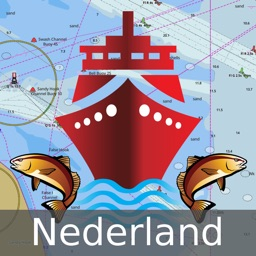 i-Boating:Holland/Netherlands GPS Nautical/Marine Charts & Maps
