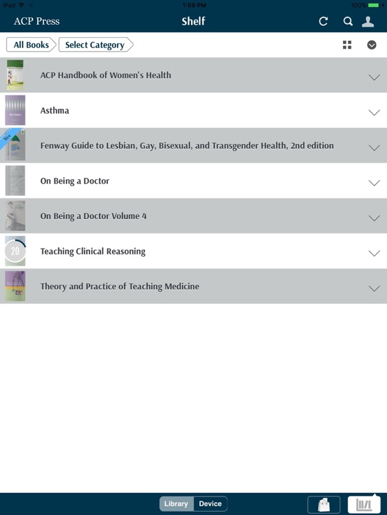 ACP Press eBook Reader screenshot-3