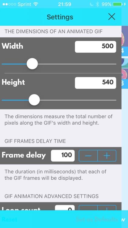 GIFit - Gif Maker Viewer, Editor, Saver, Converter screenshot-3
