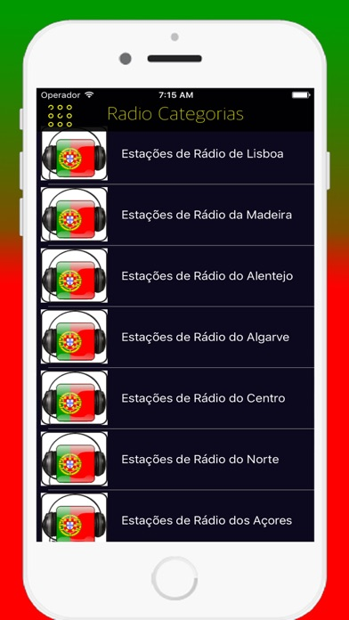 Radios Portuguese FM - Live Radio Stations Online screenshot one