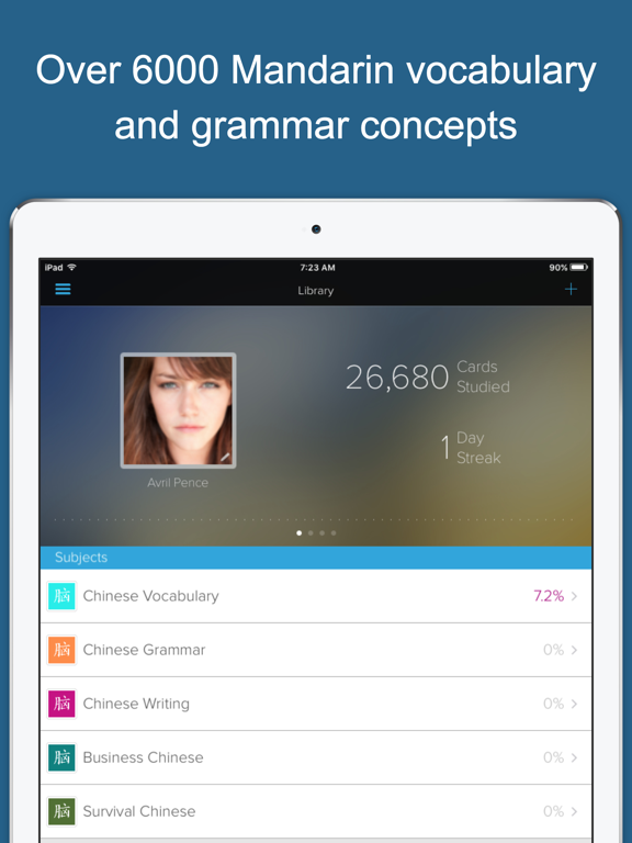 Learn Chinese (Mandarin) by Brainscape screenshot