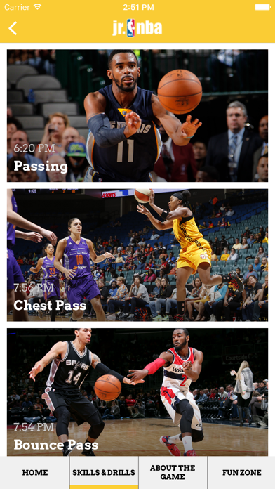 Screenshot #3 pour Jr NBA App