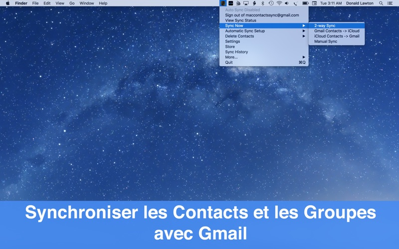6 codes à gagner pour Contacts Sync For Google Gmail-capture-1