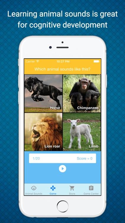 Animal Sounds - Learn & Play in a Fun Way screenshot-3