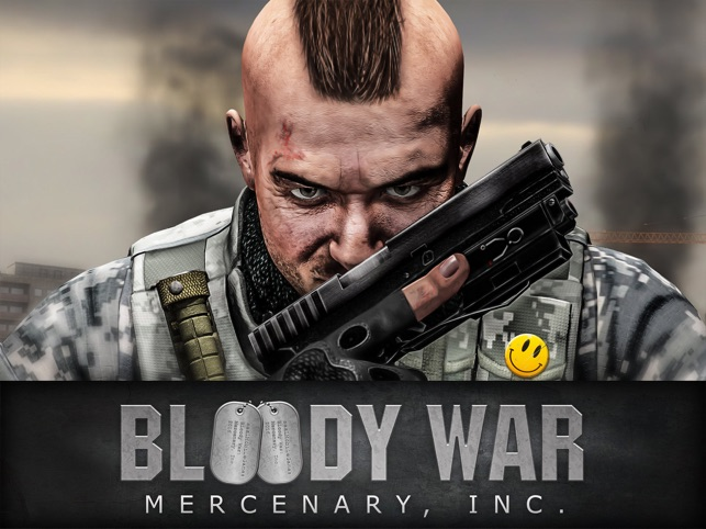 Bloody War: Mercenary, Inc., game for IOS