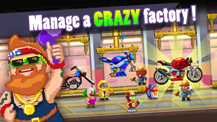 Motor World: Bike Factory screenshot-0