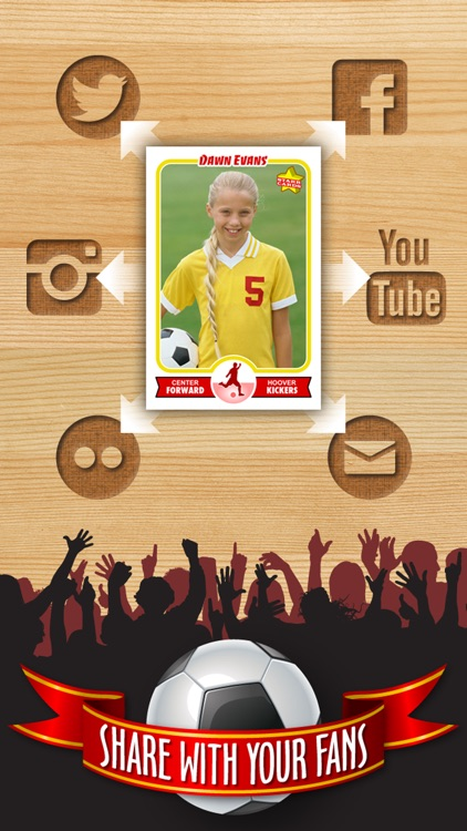 Soccer Card Maker - Make Your Own Custom Soccer Cards with Starr Cards screenshot-3