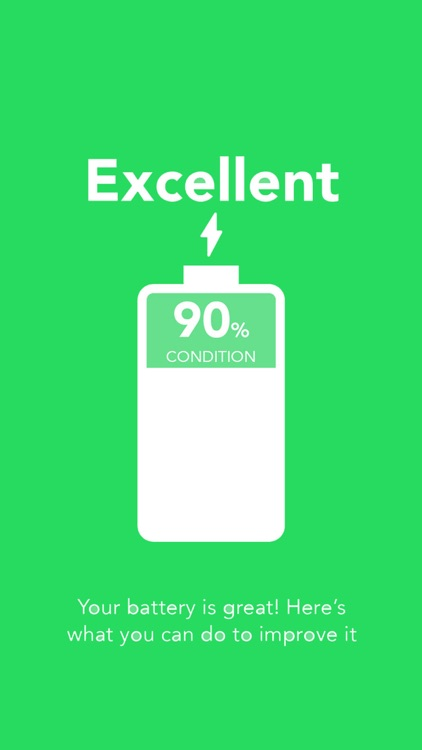 Battery Life Doctor & health 200 for iPhone & iPad app image