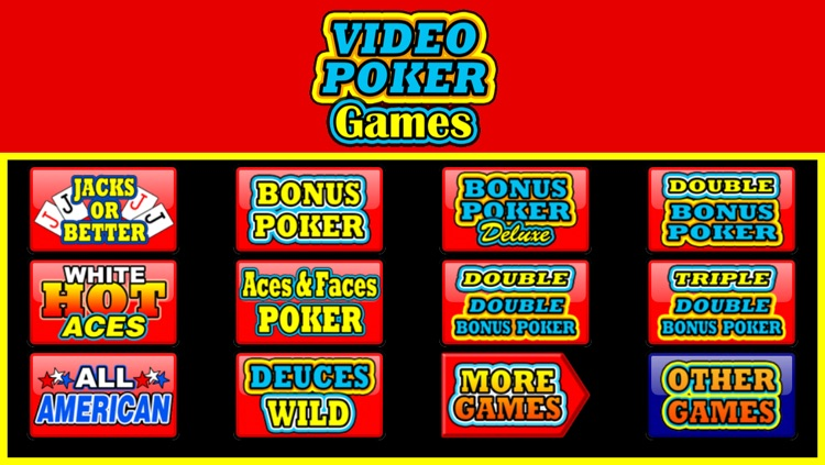 Video Poker Games