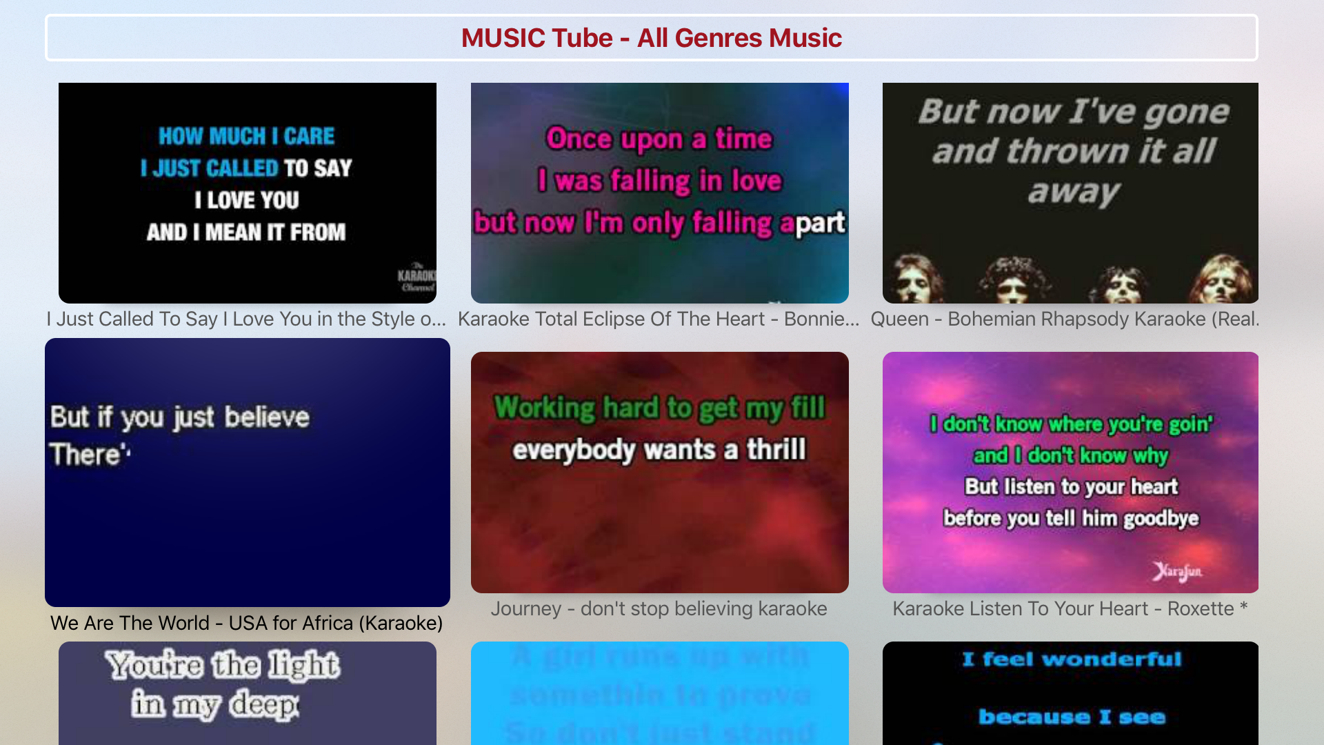 Karaoke Music - All Genres screenshot 2