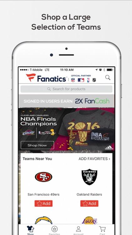 Fanatics – Shop for your Favorite Team Gear