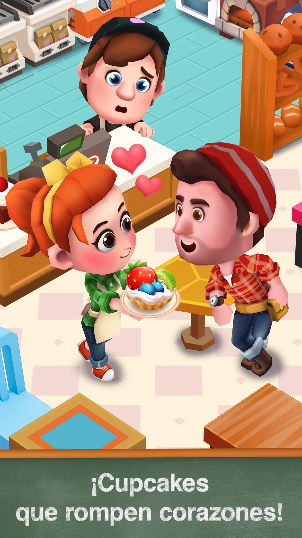Bakery Story 2: Bakery Game Screenshot