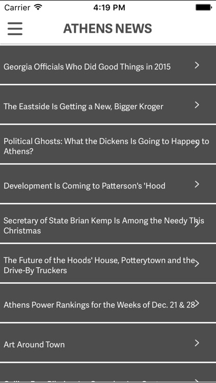 Athens News screenshot-0