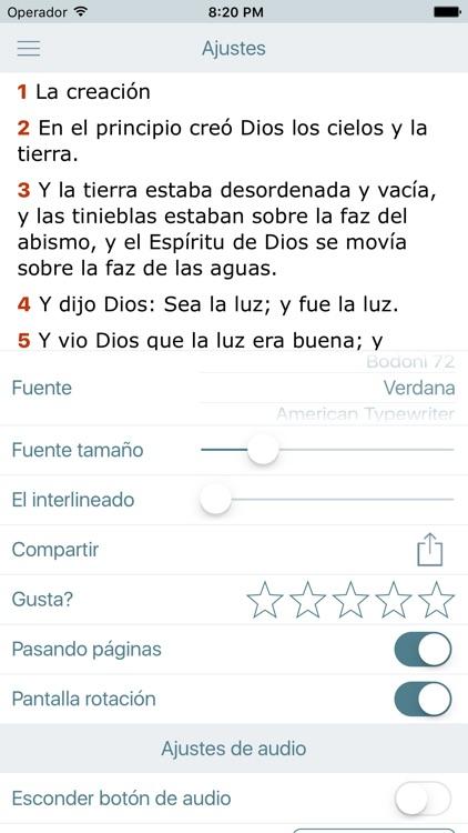El Libro de los Salmos con la Biblia Reina Valera screenshot-4
