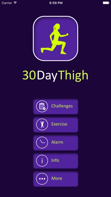 30 Day Thigh Fitness Challenges For Tight Booty