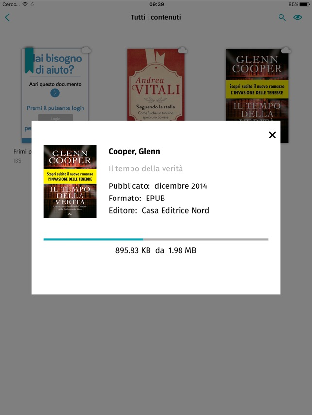ebook da ibs su ipad