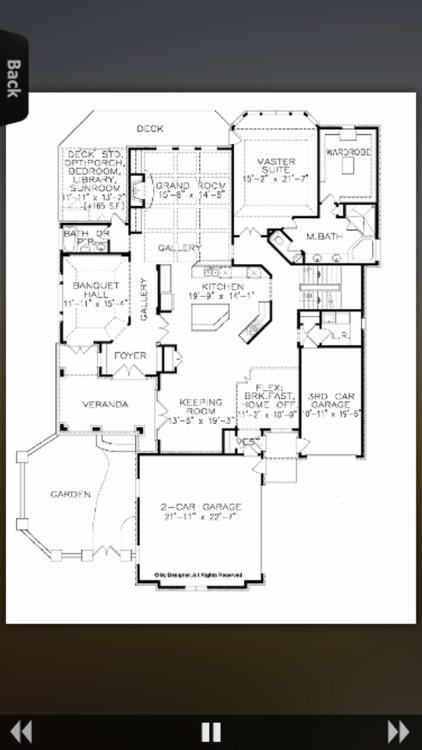House Plans - Traditional screenshot-3