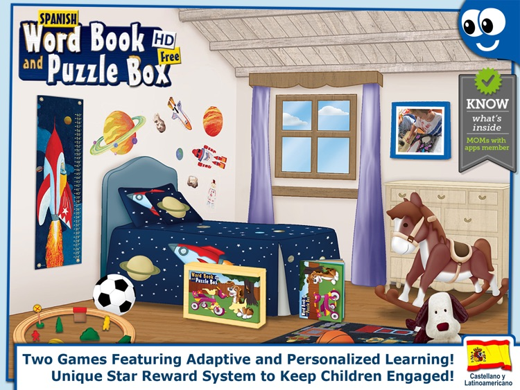 Spanish Words and Puzzles Lite screenshot-0