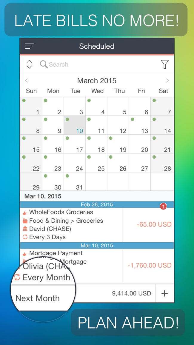 MoneyWiz 2 - Personal Finance Screenshot