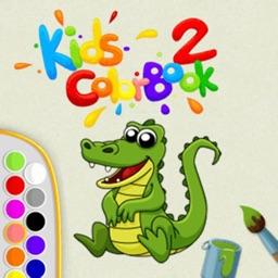 宝宝填色涂鸦书游戏 - 幼儿版的秘密花园