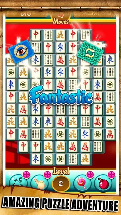 Mahjong Match-3 Swipe Majong Tiles Puzzle games
