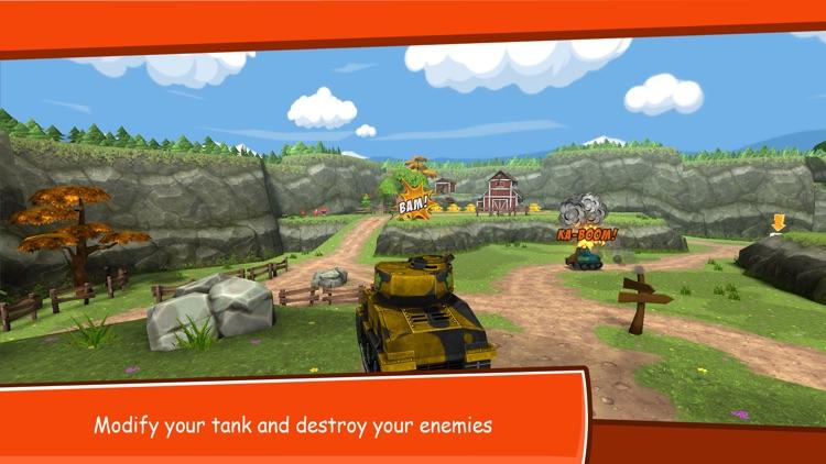 Toon Wars: Tank battles screenshot-0