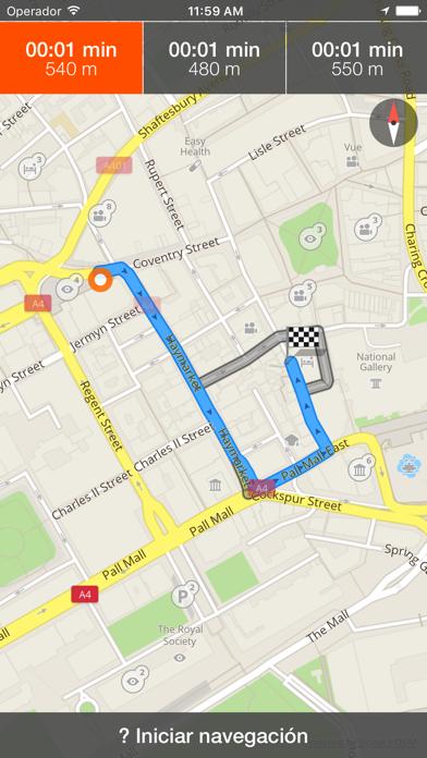 Taormina mapa offline y guía de viajeCaptura de pantalla de3