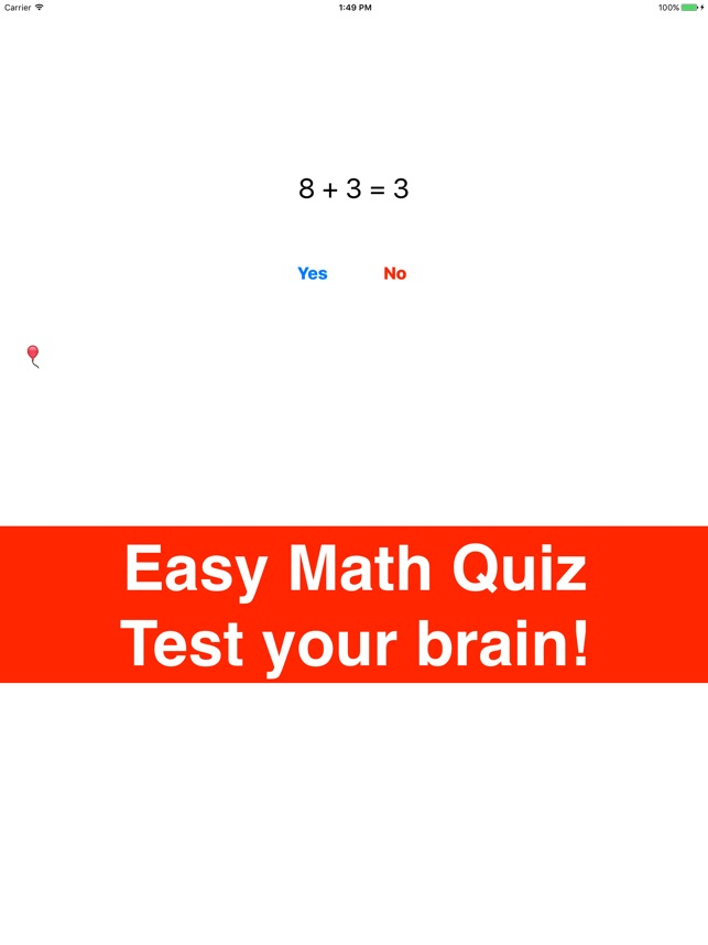 Easy Basic Math Quiz - Kids for math on the App Store