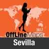 塞维利亚 离线地图和旅行指南