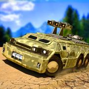 美国陆军6x6越野:卡车驾驶模拟器游戏