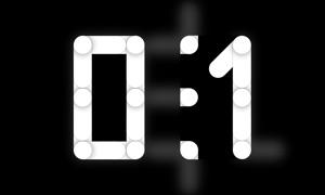 Clockus for TV – Animated Clock Screensaver