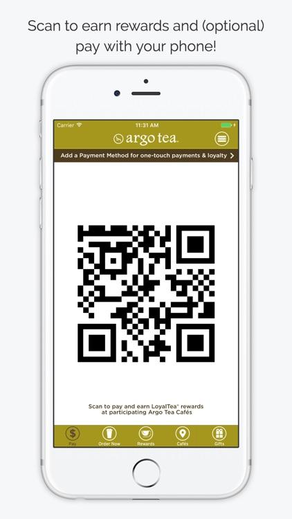 Argo Tea LoyalTea App screenshot-4