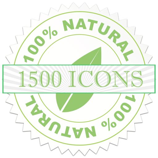 1500 Icons for Mac