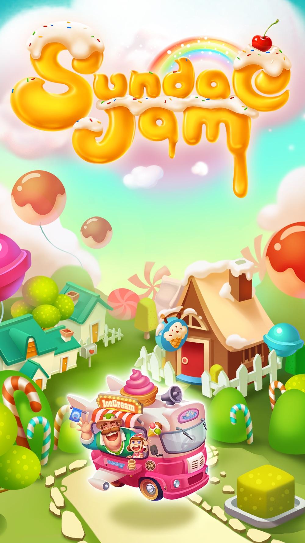 Icecream Sundae Jam – FREE Match 3 Puzzle & Arcade Game Cheat Codes