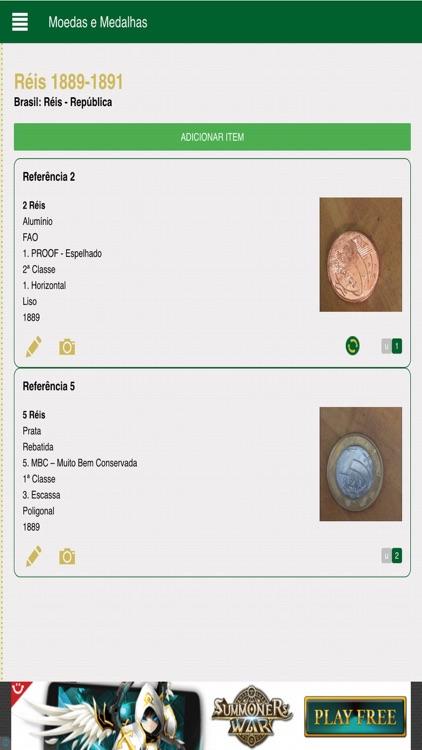 Moedas e Medalhas
