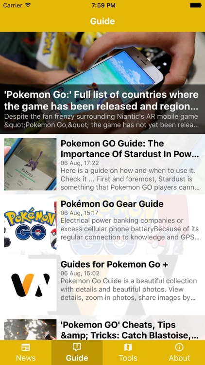 GameGuide (For Pokemon Go)