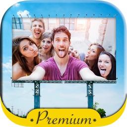 Photo frames billboards ads - Premium