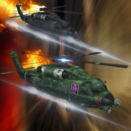 Air Combat Helicopter 2 - Green Helicopter In The Air Game
