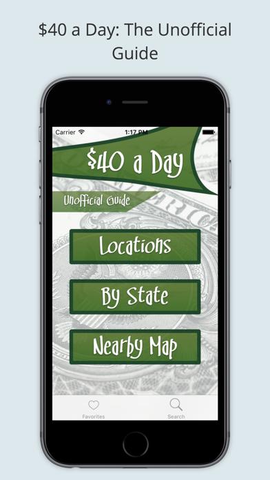 $40 a Day TV Unofficial Guide Screenshot