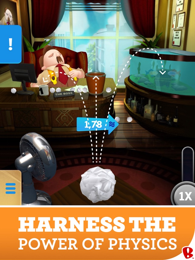 paper toss game download