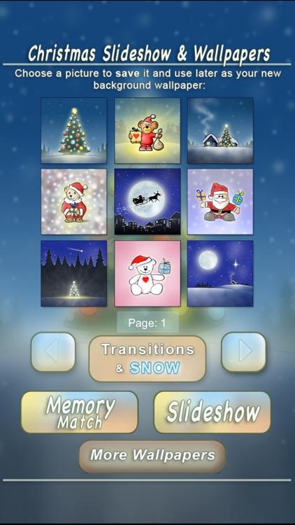 Christmas Slideshow & Wallpapers (animated snow!)