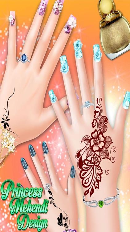 Princess Mehndi Designs: Nail art salon girls game