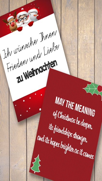 Christmas cards –  Design greetings card
