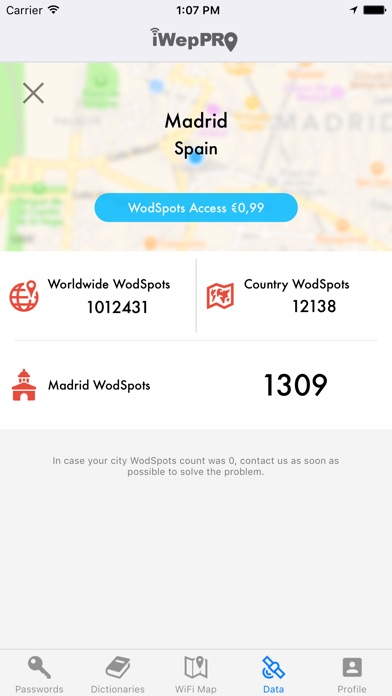 Screenshot for iWepPRO in Philippines App Store