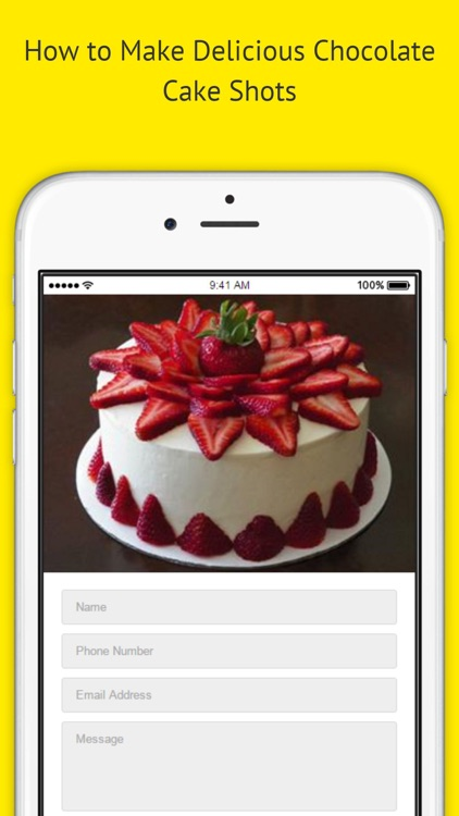 Classic Cake Recipes - Rum Cake Recipe Using Cake Mix screenshot-3